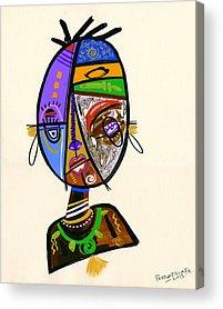 Uganda Acrylic Prints