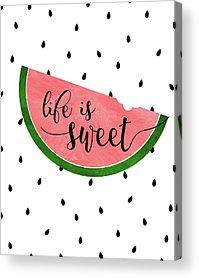 Sweets Acrylic Prints