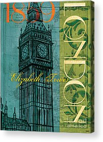 Big Ben Acrylic Prints
