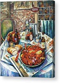 Crawfish Acrylic Prints