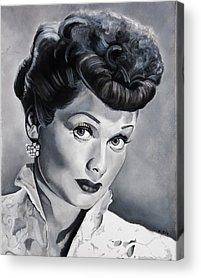 Lucille Ball Acrylic Prints