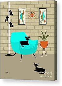 Eames Acrylic Prints