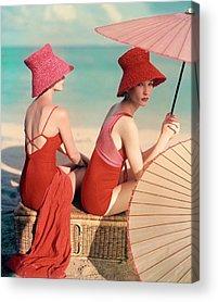 1950s Fashion Acrylic Prints