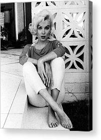 Marilyn Photographs Acrylic Prints