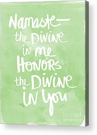 Spiritual Quotes Acrylic Prints