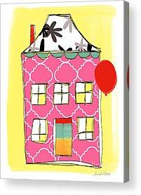 School Houses Acrylic Prints