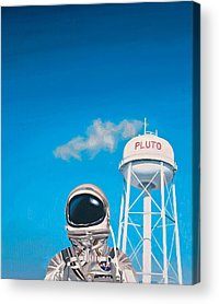 Sky Paintings Acrylic Prints
