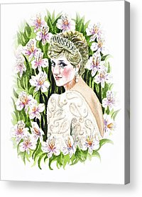 British Royalty Acrylic Prints