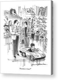 Toy Store Drawings Acrylic Prints