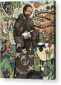 Francis Paintings Acrylic Prints