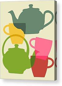 Teapot Acrylic Prints