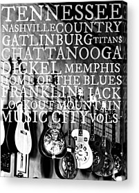 Franklin Tennessee Photographs Acrylic Prints