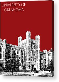 Oklahoma University Acrylic Prints