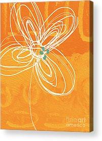 White Flower Acrylic Prints
