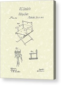 Folding Chairs Acrylic Prints