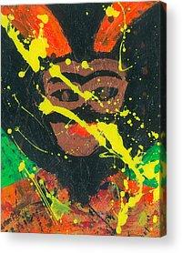 Paintig To Heal Acrylic Prints