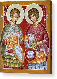 St Dimitrios Acrylic Prints