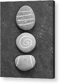 Rocks Mixed Media Acrylic Prints