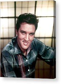 Elvis Presley Acrylic Prints
