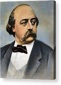 Gustave Flaubert Acrylic Prints