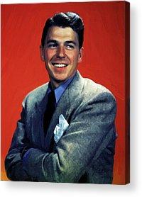 Ronald Reagan Acrylic Prints
