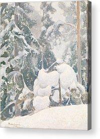 Pekka Acrylic Prints