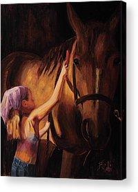 Horse Acrylic Prints