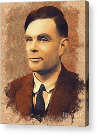 Alan Turing Acrylic Prints