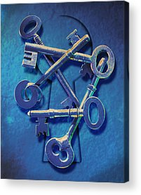 Keys Photographs Acrylic Prints