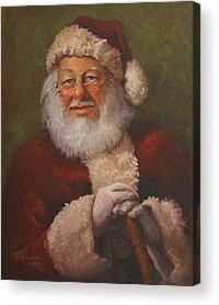 Claus Acrylic Prints