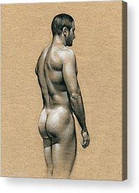 Naked Acrylic Prints