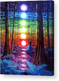 Visionary Paintings Acrylic Prints