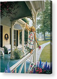 Front Porch Acrylic Prints