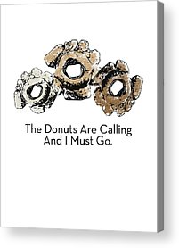 Doughnut Acrylic Prints
