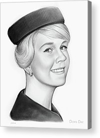 Mary Drawings Acrylic Prints