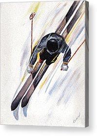 Winter Sports Acrylic Prints
