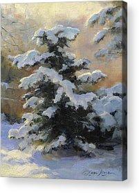 Heavy Snow Acrylic Prints