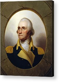 George Washington Acrylic Prints