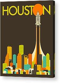 Houston Acrylic Prints