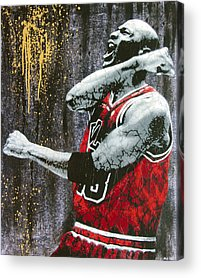 Basketball Acrylic Prints
