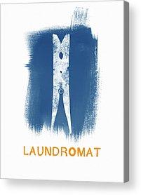 Clothes Washing Acrylic Prints