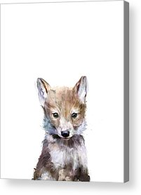 Wolves Acrylic Prints