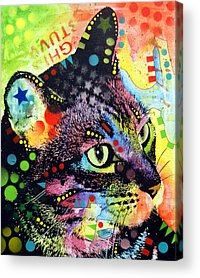 Kitty Acrylic Prints