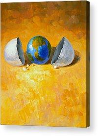 Globe Acrylic Prints
