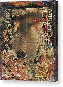 War On Terrorism Acrylic Prints