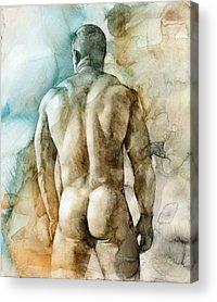 Figure Acrylic Prints