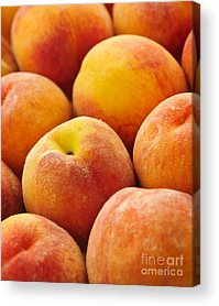 Peachy Acrylic Prints