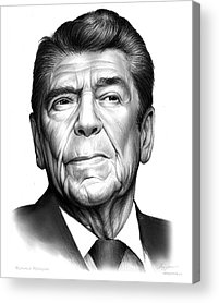 Ronald Reagan Acrylic Prints