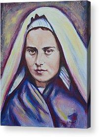 Soubirous Paintings Acrylic Prints