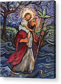 Saint Christopher Acrylic Prints